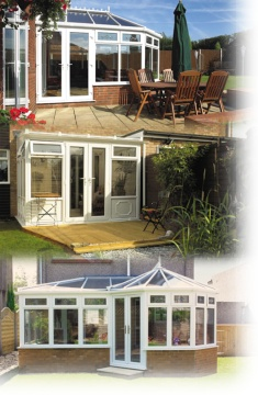 Our conservatories are individually designed to suit your budget and tastes